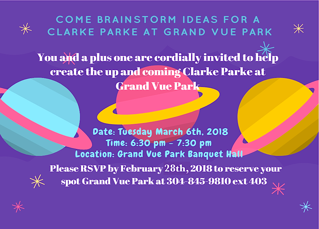 Invitation to Clarke Park meeting